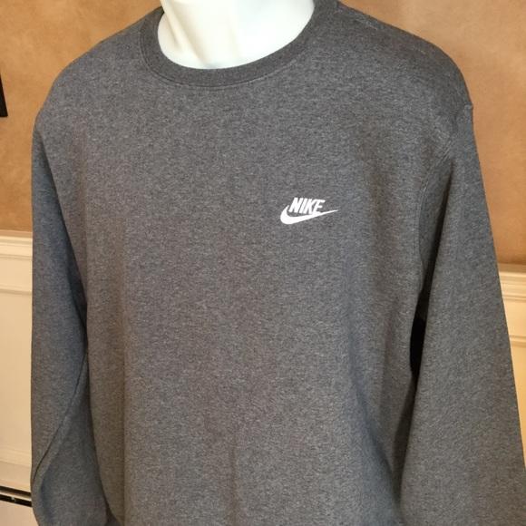 549eca4ea Nike Shirts | Mens Club Crew Neck Fleece | Poshmark